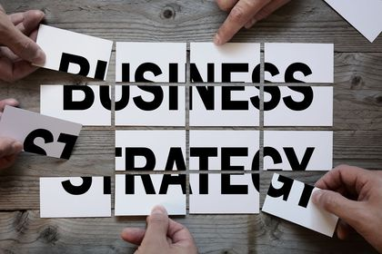 Start with a business strategy