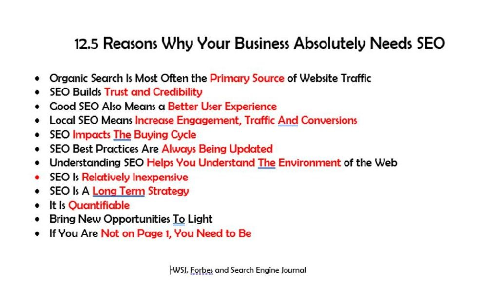 Most Business Owners do not understand what Organic Search does for your business,